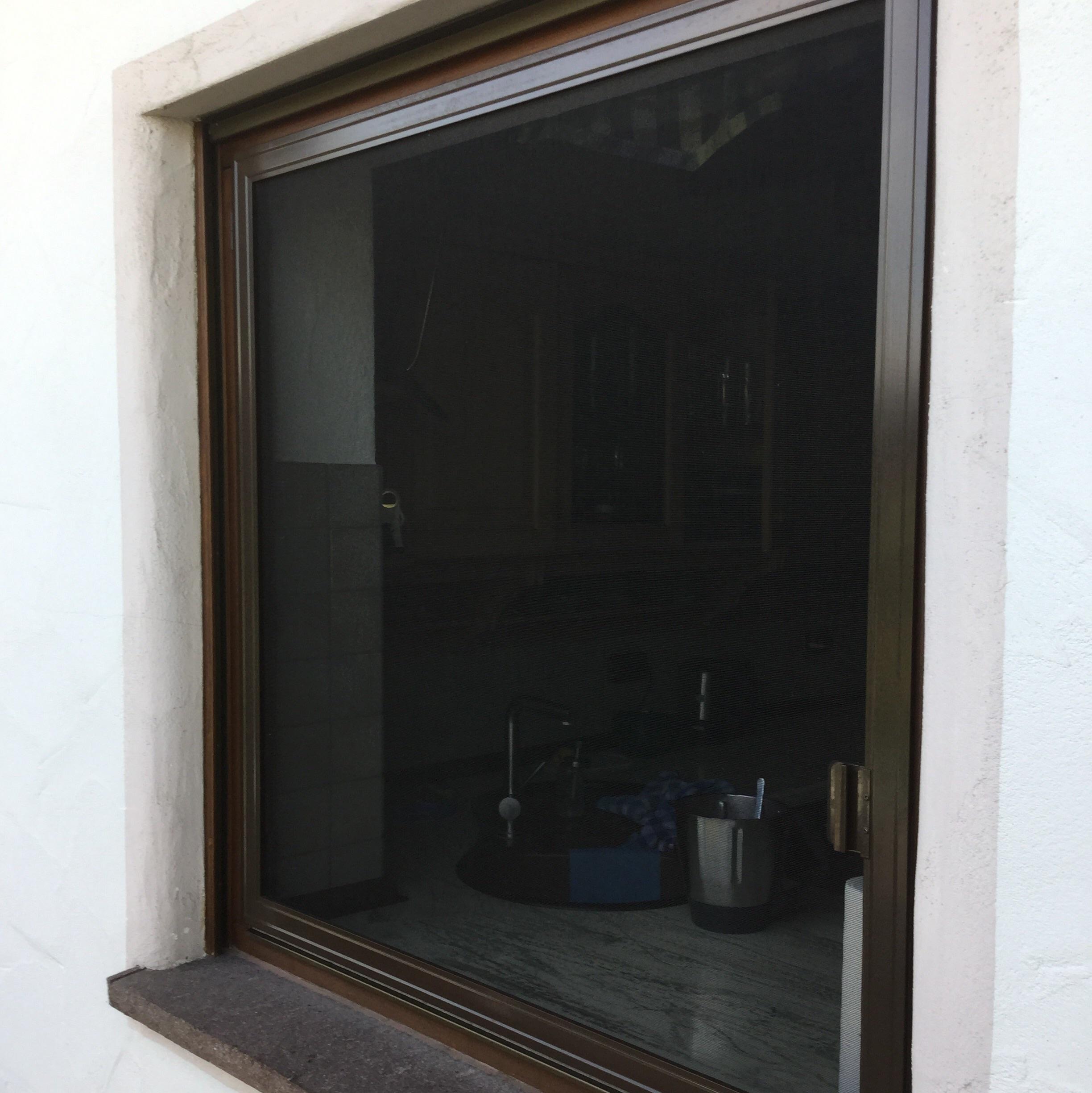 insektengitter in sepiabraun zum nach au en ffnen in 87789 woringen. Black Bedroom Furniture Sets. Home Design Ideas