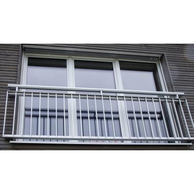 Kunsstoff-Balkontüre in Weiß in Woringen