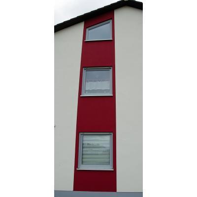 Kunststoff-Fenster in Grau mit Sicherheitsbeschlägen und Sicherheitsglas in Memmingen